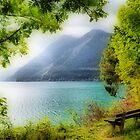 Mountain Lake by Daidalos