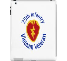 25th Infantry - Vietnam Veteran iPad Case/Skin