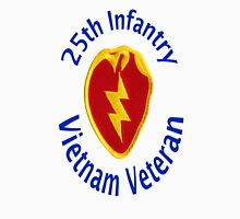 25th Infantry - Vietnam Veteran Unisex T-Shirt