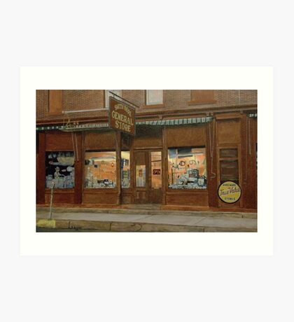 Smith Brothers General Store Art Print
