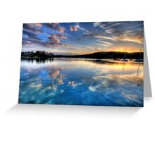 Reflections Of Day - Newport - The HDR Experience Greeting Card