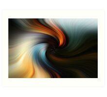 The swirl Art Print