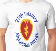 25th Infantry - Afghanistan Veteran Unisex T-Shirt