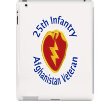 25th Infantry - Afghanistan Veteran iPad Case/Skin