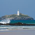 Godrevy Lighthouse, Cornwall by Michelle Lovegrove