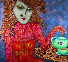 Teapot Girl by Lizetteart