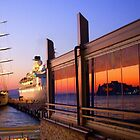 Maritime Sunset Reflections by Honor Kyne