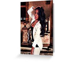 White Angel Fine Art Print Greeting Card