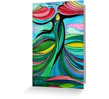 Mother Earth II Greeting Card