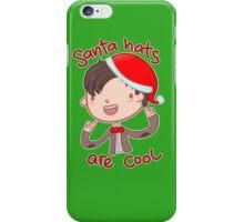 I wear a santa hat now iPhone Case/Skin