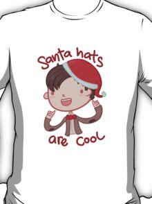 I wear a santa hat now T-Shirt