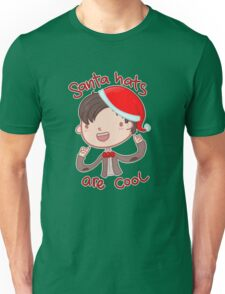 I wear a santa hat now Unisex T-Shirt