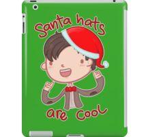 I wear a santa hat now iPad Case/Skin