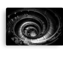 Vatican Museum Staircase Canvas Print