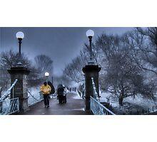 Winter in Boston Photographic Print