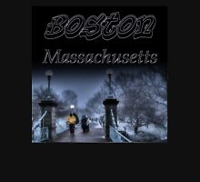 Winter in Boston Unisex T-Shirt