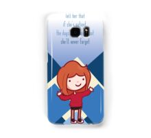 If she's patient Samsung Galaxy Case/Skin