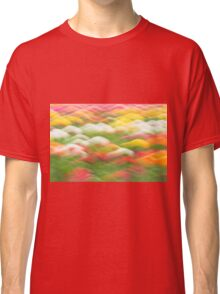Spring Tulip Abstract Classic T-Shirt