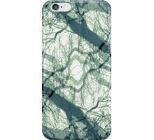 Centering Prayer Abstract/Reflective State Green  by Jenny Meehan  iPhone Case/Skin