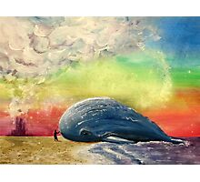 Beached Whale Photographic Print