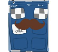 THE TARDIS IS CAMOUFLAGED iPad Case/Skin