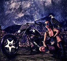Mystic Rider Fine Art Print by stockfineart