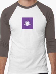 Truck Stop Bingo - Violet Men's Baseball ¾ T-Shirt