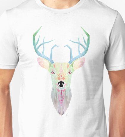 white deer Unisex T-Shirt