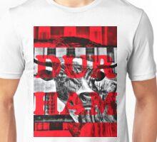 Durham Bull Pop in Red Unisex T-Shirt