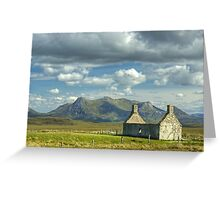 Moine House, Sutherland Greeting Card