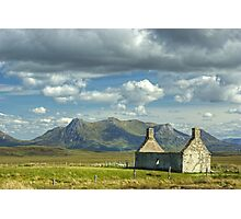 Moine House, Sutherland Photographic Print