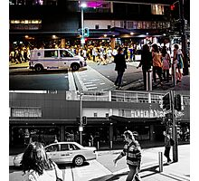 Like Night and Day - Darlinghurst Rd - 2009 Portfolio Project Photographic Print