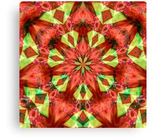 Holiday Kaleidoscope Canvas Print