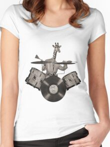 Anthropomorphic N°24 Women's Fitted Scoop T-Shirt