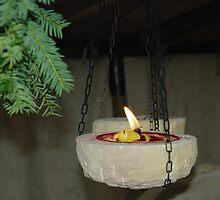 Hanging Christmas Candle by Nikolaj Masnikov