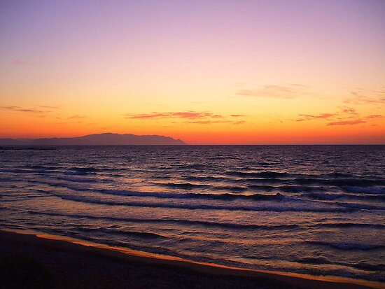Complementary Colours at Dusk by Honor Kyne