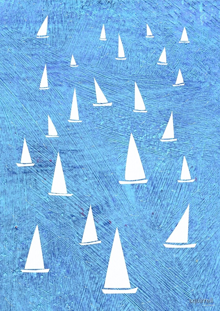 Sailing by Nic Squirrell