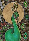 Icon VII: The Peacock by Lynnette Shelley