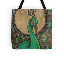 Icon VII: The Peacock Tote Bag