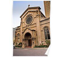 Holy Trinity Catholic Church Poster