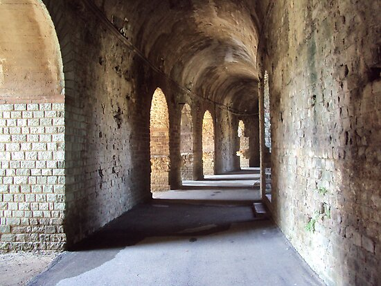 Fréjus Amphitheatre , South of France by biddumy