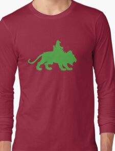 Battlecat plus one Long Sleeve T-Shirt