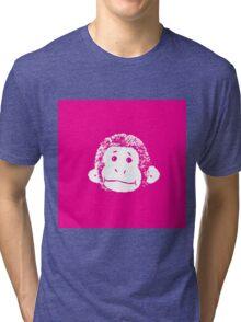 Truck Stop Bingo - Pink  Tri-blend T-Shirt