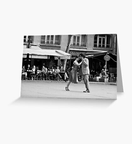 Last tango in Paris Greeting Card