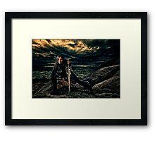 Sea Warrior Fine Art Print Framed Print