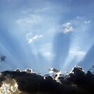 Shining Sun Rays on the Dark Sky by Nikolaj Masnikov