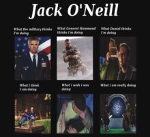 what Jack O'Neill is doing by isilygoodart