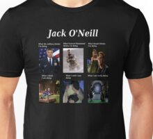 what Jack O'Neill is doing Unisex T-Shirt