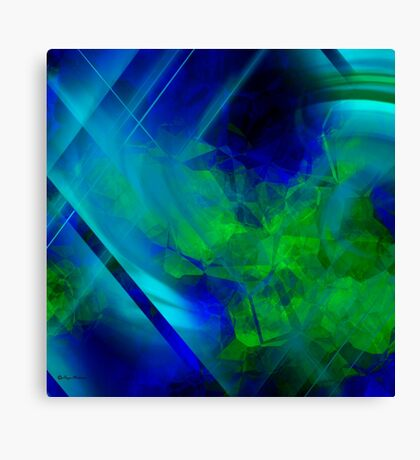 Untitled Abstract- 14-  Art + Products Design  Canvas Print