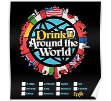 Drink Around the World - EPCOT Poster